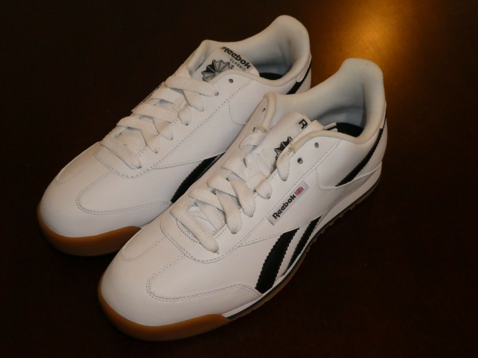 Reebok CL Supercourt Smooth schuhe J88184 Turnschuhe new Weiß gum Men's