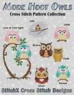 More Hoot Owls ... Cross Stitch Pattern Collection by Tracy Warrington (Paperback / softback, 2014)