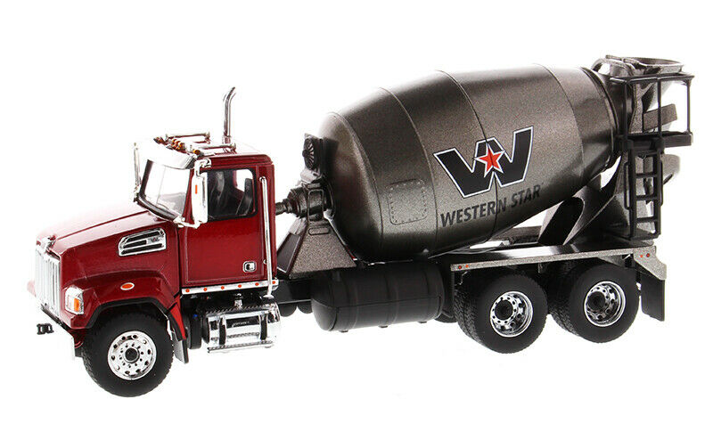 CAT Western Star 4700 SF Concrete Mixer Truck 1 50TH 71033 Diecast Masters Cars