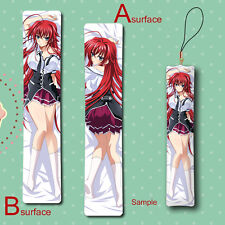 High School DxD Rias Gremory Anime Mini Dakimakura Keychain Hanging Phone Strap