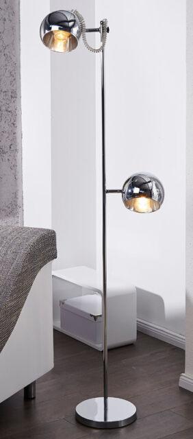 Invicta Stehleuchte Bubble In Silber Chrom Ebay