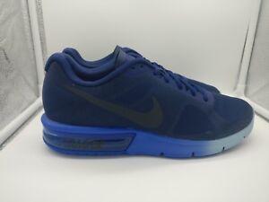 Nike Air Max Sequent UK 10 Loyal Blue Dark Obsidian 719912-407  e8ea4d40f