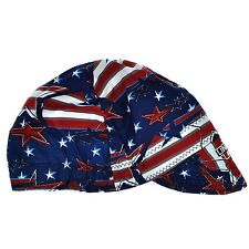 Lincoln Electric K3203-all All American Welding Cap Red White Blues