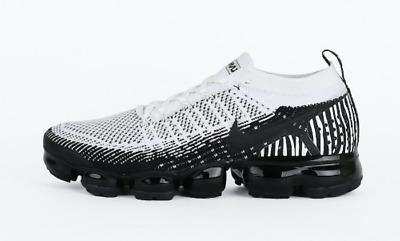 uk availability a9d45 22af2 Nike Air Vapormax Flyknit 2 Zebra Black White size 10. AV7973-100. animal  print | eBay