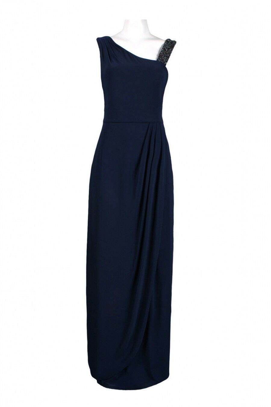Decode Size Women's Side Draped Long Dress Gown Size 0
