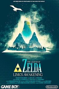 The Legend Of Zelda Links Awakening Wall Poster 30 In X 20 In 9