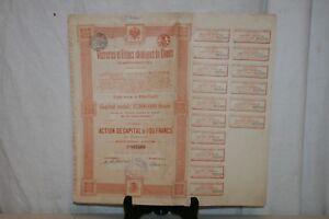 Ancienne Action Verreries Et Usines Chimiques De Donetz De 1895. Lhjytois-07221501-575630168