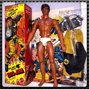 Mattel-Big-Jim-GOLD-Commander-NIB-70s-VTG-Leader-Wolf-Pack-Jims-Jack-Kirby-Comic