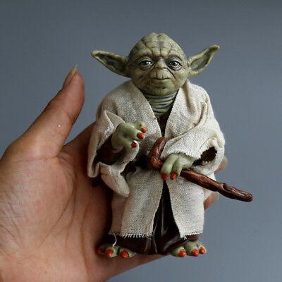 12cm Star Wars Interactive Legendary Jedi Master Yoda Height PVC Action Figurine