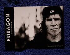 Mark Lanegan Estargon 10 x 15 Italian flyer  Screaming Trees Nivana Pearl Jam
