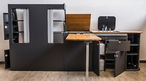 JSC Möbelzeile für VW T5 T6 Bus Camper California Umbau /Möbel /Küchenzeile