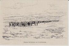 1891  --  COMBAT DE LIGNOL   LE 7 SEPTEMBRE 1891   3K123