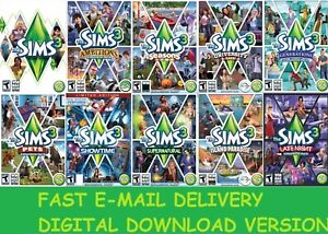 The-Sims-3-10-DLC-Instant-Digtal-Download-Account-PC-Multilanguage