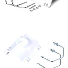4-Inch x 2-Inch Oatey 43791 PVC Saddle Tee Kit