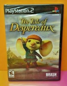 The-Tale-of-Despereaux-PlayStation-2-PS2-Brand-New-X-Y-Factory-Sealed-Game