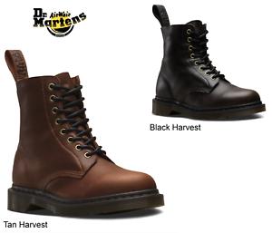 Dr.Martens 1460 Pascal Harvest botas Cuero [Todos Colors y Tamaños]