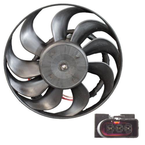 Radiator Motor VW Audi 1J0959455M Blade Engine Cooling Fan Assembly