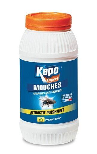 Granulés jaune Insecticide Foudroyant Mouches KAPO