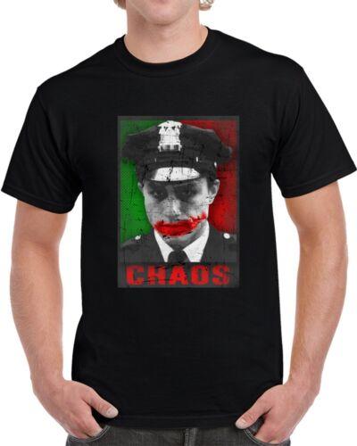 Joker Heath Ledger Chaos Parody Obama Style Poster Cool T Shirt