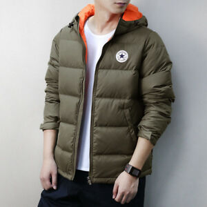 bfdd006a45cd CONVERSE Men s Down Filled Jacket - XL (ARMY GREEN) 888754992945