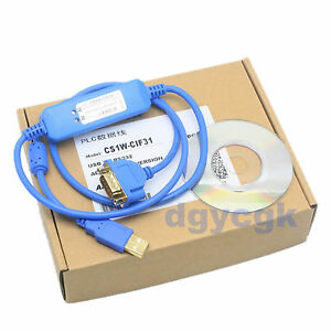1PC NEW Omron usb to serial port USB to standard nine-wire rs232 CS1W-CIF31