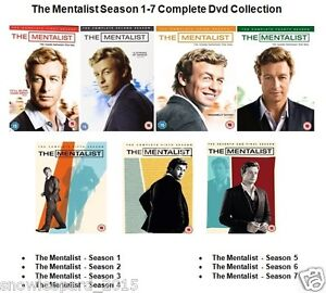 Details about THE MENTALIST COMPLETE SERIES 1 2 3 4 5 6 7 DVD Set Brand New  and Sealed UK