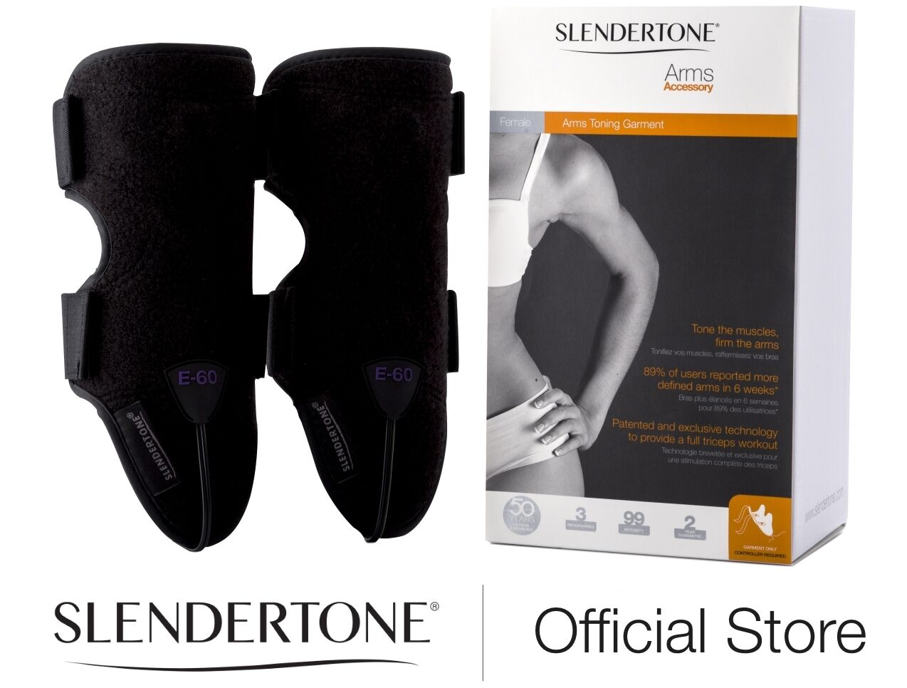 SLENDERTONE TRICEP MUSCLE ARM TONING GARMENT - NO CONTROLLER