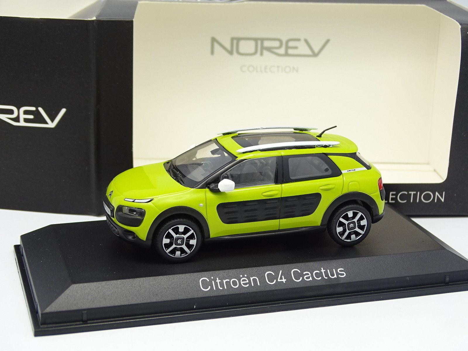 Norev 1 43 - Citroen C4 Cactus Verte