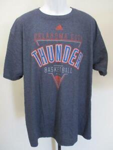 New Oklahoma Thunder Mens Size L/2XL Large Adidas Shirt MSRP