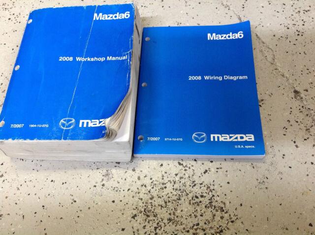 2008 Mazda 6 Mazda6 Service Repair Shop Workshop Manual