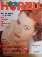 HÖRZU 16 - 1998  * Programm vom 25.4.-1.5. Gillian Anderson Axte X Flughunde