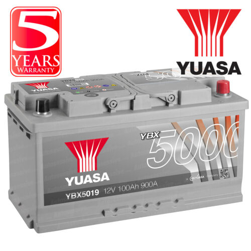 Yuasa Car Battery Calcium 12V 900CCA 100Ah T1 For BMW X5 E70 3 xDrive30d