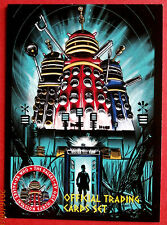 DR WHO & THE DALEKS, COMPLETE BASE SET (54 cards) - Unstoppable 2014