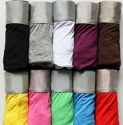 Modal Sexy Boxers Underwear 10 Colors Men's Underwear Boxer Shorts Mens M-XXL