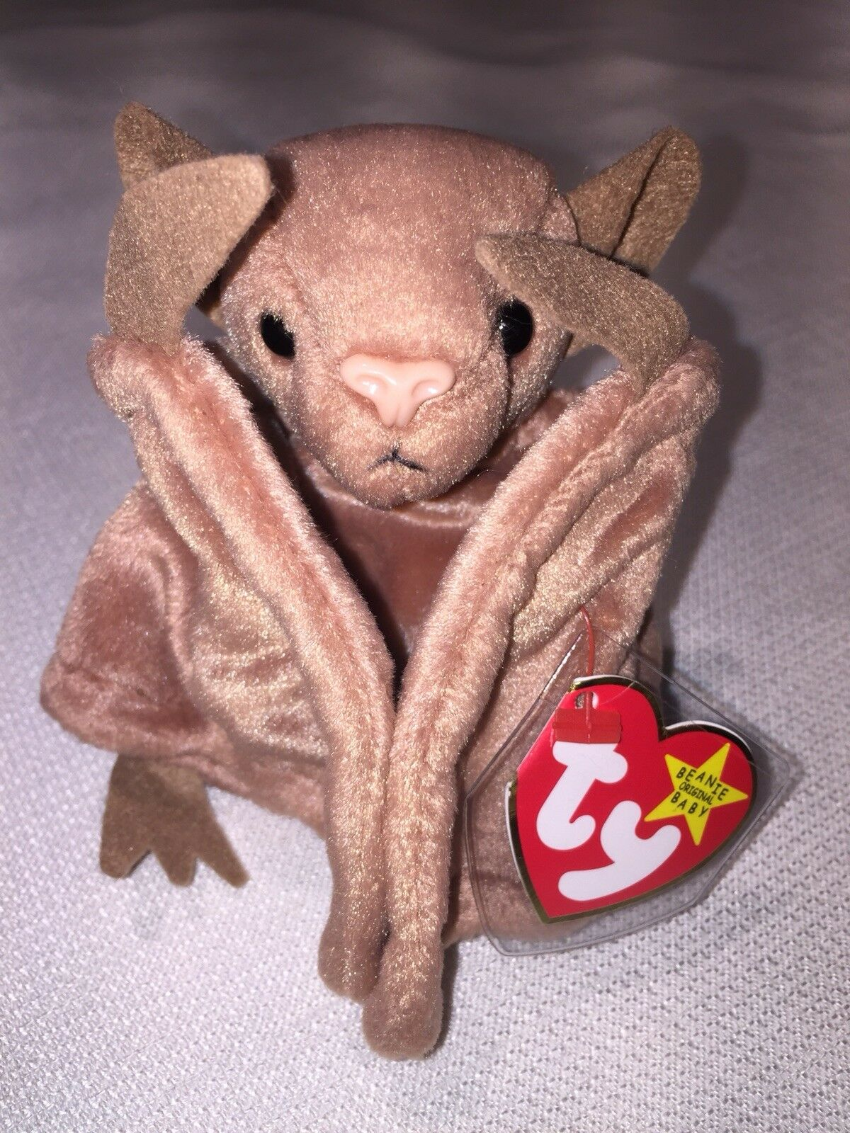 NEW  RARE-Ty Beanie Baby Batty the Bat born 10 29 96 Mint Condition