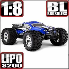 RedCat Racing Earthquake 8E Brushless 4x4 Monster Truck Blue - Free Shipping