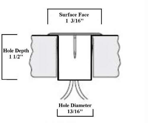 Direct Wire 4 Piece Set Deck Garden Landscape White LED Lights Kit Low Voltage