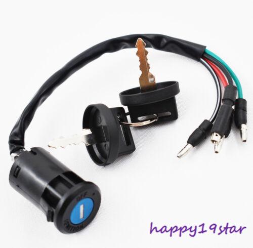 New Ignition Key Switch For Honda 86-87 TRX200 SX Fourtrax #F59 CA