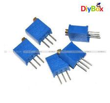 10pcs Blue 103 10K ohm 3296W Trim Pot Trimmer Potentiometer  DFC