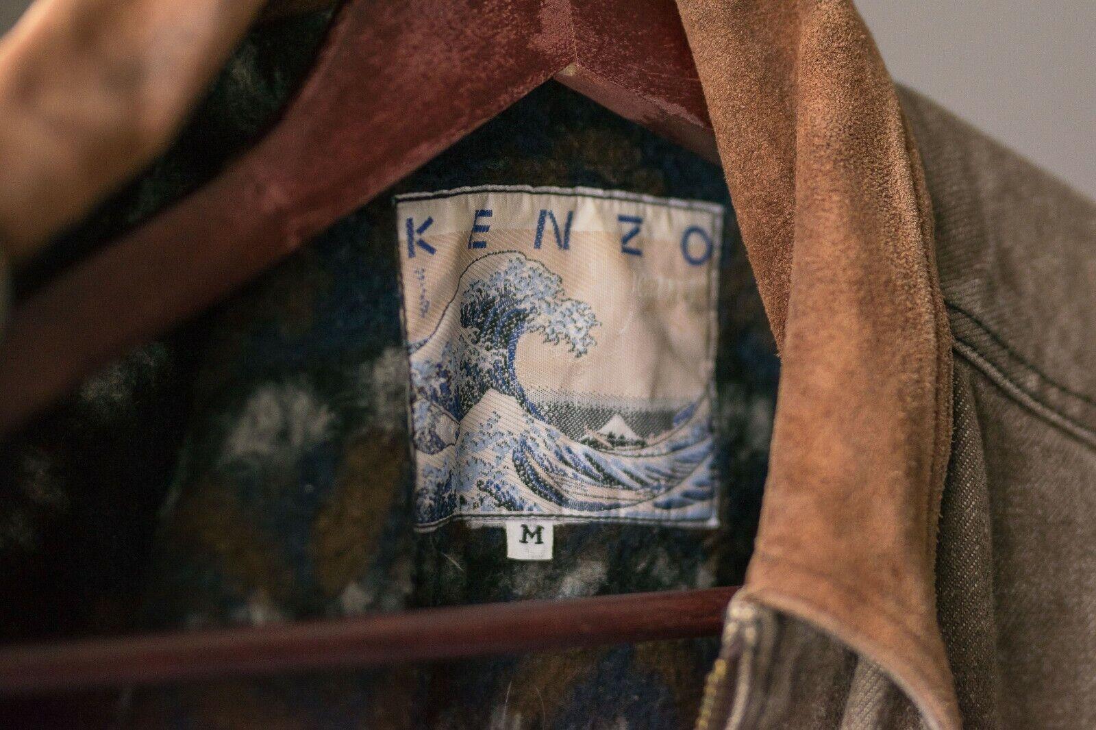 Women's Vintage 70's KENZO Blazer Retro Jacket Si… - image 6