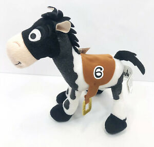 Disney Parks Toy Story Bullseye Race Horse #6 Plush Woodys Horse Stuffed Animal