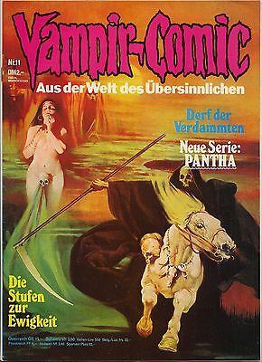 VAMPIR-COMIC Pabel-Verlag 1 - 15 komplette Serie 1974  Horror Grusel Fantasie