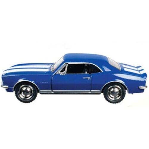 ToySmith 1967 Camaro Z28 Diecast Sports Car-Blue