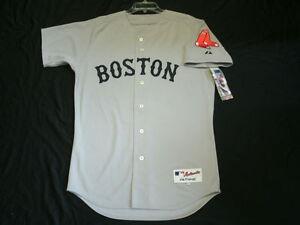 3869d9ffe A imagem está carregando Autentico-Majestic-tamanho-60-4XL-Boston-Red-Sox-