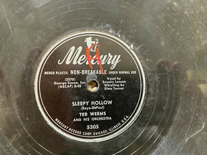 TED-WEEMS-ORCHESTRA-SLEEPY-HOLLOW-78-RPM-RECORD-VG