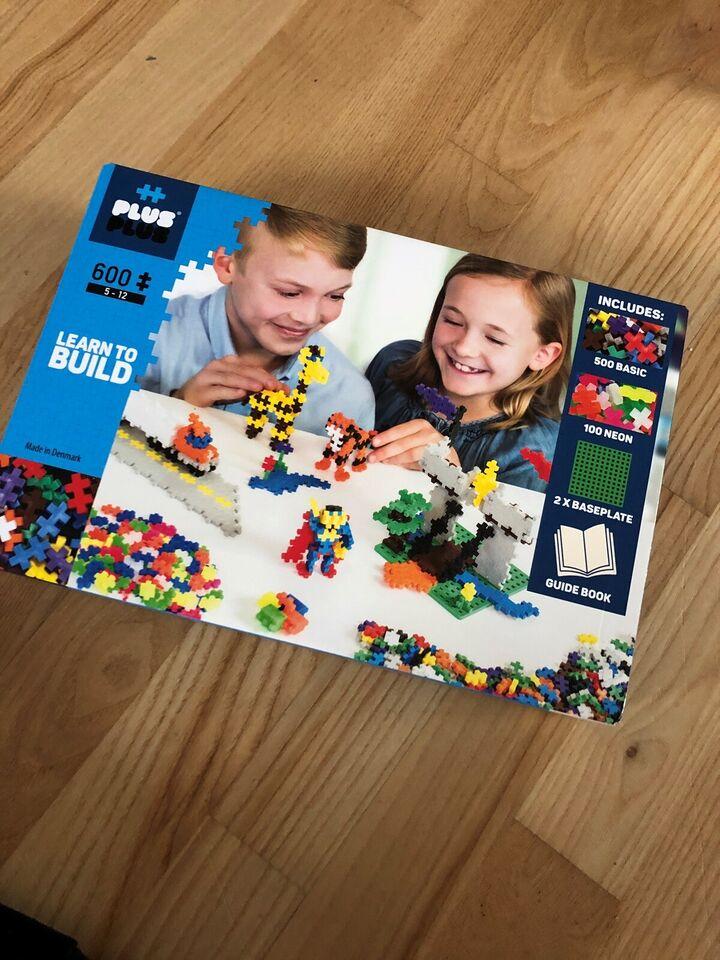 Byggesæt, Learn to build , Plus plus