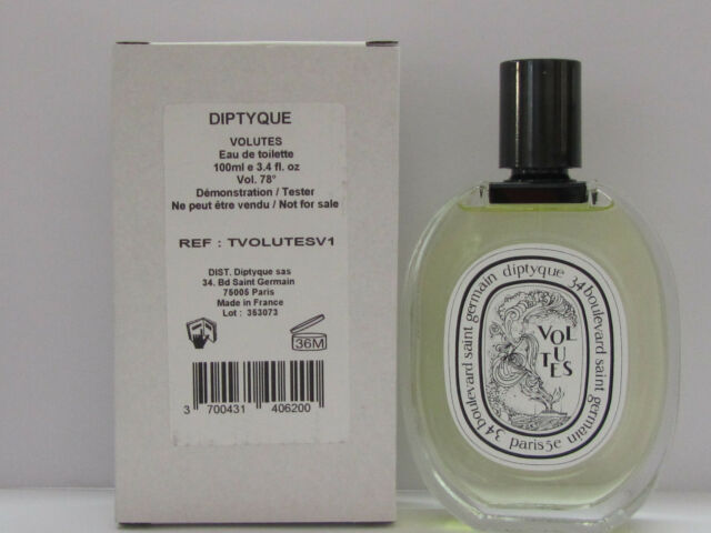 Volutes By Diptyque For Women 3 4 Oz Eau De Toilette Spray Tester