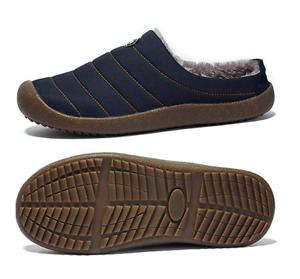 Women-Indoor-Outdoor-Slippers-Fur-Lined-Winter-Waterproof-Clog-House-Shoes