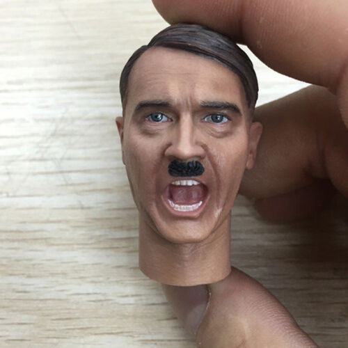 1//6 Head Sculpt PLAY Army Furious Soldier For Action Figure WW2 Germany General
