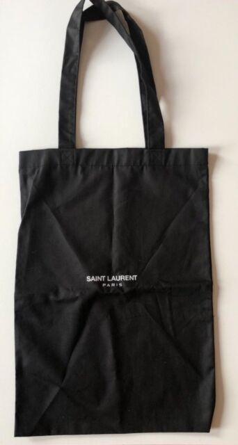 YSL Yves Saint Laurent Paris Dust Bag Black with Handles 17